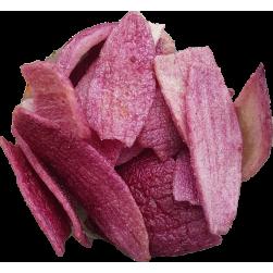 Rode uienchips 150 gram