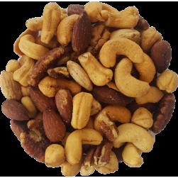 Gemengde noten zout